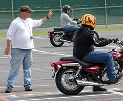motorcycle instruction class