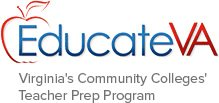 EducateVA Virginia's Community Colleges' Teacher Prep Program logo