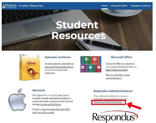 Canvas Student Resources screenshot