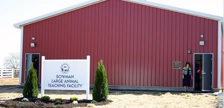 Bowman Large Animal Teaching Facility