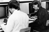 Students - Word Processing 1980s
