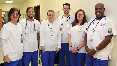 BRCC nursing students