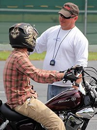 Motorcycle training at BRCC