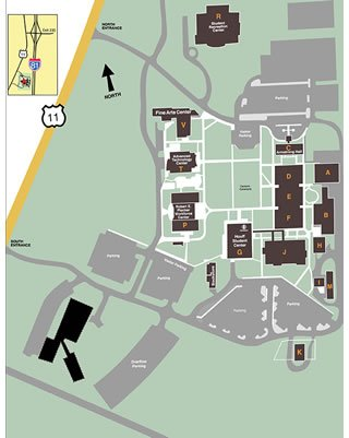Weyers Cave Campus Map