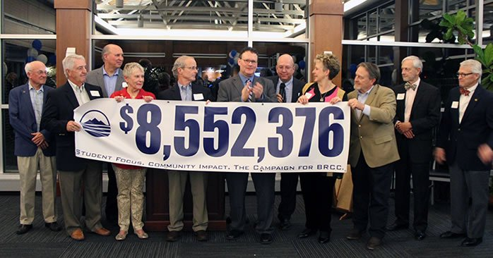 Foundation Board members celebrate $8,552,365 raised at campaign celebration