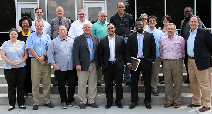 Go Virginia cybersecurity bootcamp participants and instructors