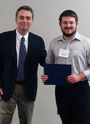 Philip Sowers garnered the 2019 ODU Civil Engineering Technology Faculty Award